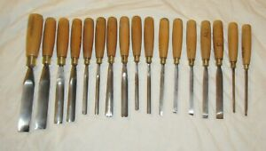 17 Woodcarving chisels carving chisels gouges tool woodworking tools Ashley Iles