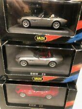 BMW Z8 1/43 set of 3 models by Jadi