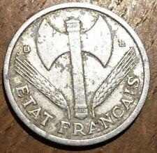 PIECE DE 1 FRANC BAZOR 1944 B ALUMINIUM (278)