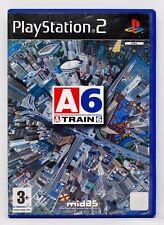 A TRAIN 6 - PLAYSTATION 2 PS2 PLAY STATION 2 - PAL ESPAÑA - ATRAIN 6