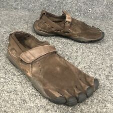 Vibram Five Fingers W241 Leather Suede Running Shoes Women's Size 7-7.5 Euro 37