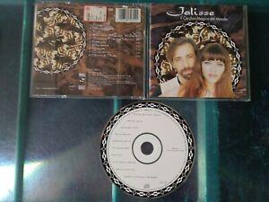"""JALISSE """" IL CERCHIO MAGICO DEL MONDO """" CD 1997 SONY MUSIC NUOVO NON SIGILLATO"""