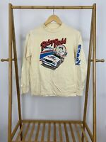VTG Ricky Rudd 80s Nascar Piedmont Airlines Long Sleeve T-Shirt Size S