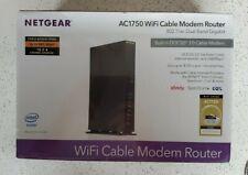 NETGEAR C6300-100NAS AC1750 WiFi Cable Modem Router Modem/Wireless DOCSIS Sealed