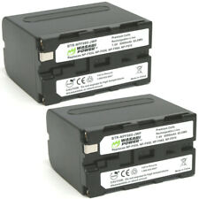 Wasabi Power Battery (2-Pack) for Sony NP-F975, NP-F970, NP-F960, NP-F950