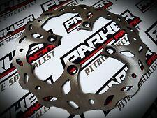 Pit Bike Brake Wavey Disk Set 220mm 190mm