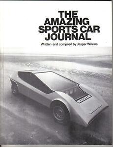 Amazing Sports Car Journal Kit Cars Elva Lotus Mini Jem & Marcos Arkeley Ogle +