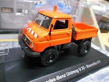 Mercedes Benz Unimog u32 série 411 Orange Pick-up ALTAYA IXO 1:43