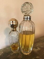 LOT- LG crystal top Vintage Valentino Perfume Eau de cologne splash 8.45 /250 ML