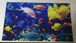 Puzzlebug Tropical Aquarium Jigsaw 500pce 8yr+ 28x46cm Complete c2014 MIB #5500