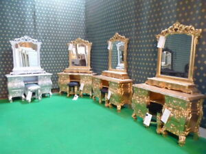 BESPOKE  French style Rococo Dressing Table ~ Colour and size choices available