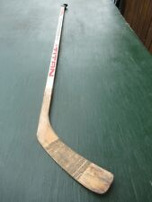 "Vintage Wooden 56"" Long Hockey Stick Titan Canada 1984"