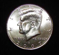 2007 D Kennedy Half Dollar BU Uncirculated  Flat fee shipping