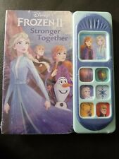 Disney Frozen 2 Stronger Together Play A Sound Book hardcover