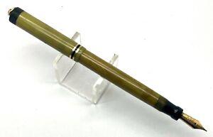 Antique Parker Duofold Pastel Light Olive Fountain Pen, USA (#AR4874)