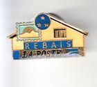 RARE PINS PIN'S .. PTT LA POSTE TIMBRE STAMP BUREAU REBAIS 77 ~BX