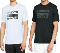Under Armour UA Mens T Shirt Team Issue Wordmark Gym Fitness Crew Neck Tee Top