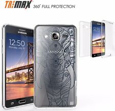 For Samsung Galaxy On 5 SM-G550 Tri Max 360 Full Body Protection Case Elephant