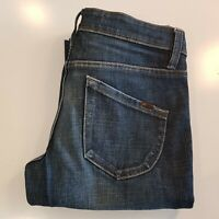 LEE Women's Stovepipe Stretch Jeans Size 10s Blue Denim Zip Fly -MF06