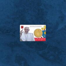 Vatikan - Coincard - 50 Cent 2018 BU - Wappen - Coin Card Nr. 9