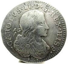 NAPOLI (CARLO II) 8 Grana 1690 (RARA)