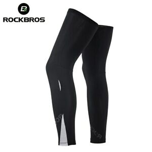 RockBros Warming Pants Breathable Fabric Knee Leg Warmer Safety for Sports