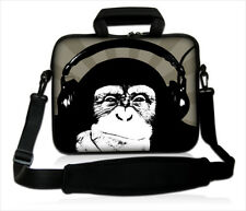 """17-17,3"""" LAPTOP SLEEVE WITH HANDLE FOR ALL MAKES & MODELS *Monkey*"""