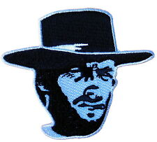MAN WITH NO NAME OUTLAW SEW ON - IRON ON BIKER PATCH