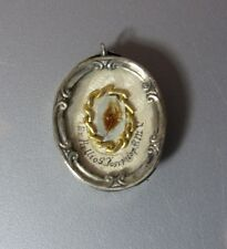 Antique Reliquary Relic St Josephe Ex. Pallios. Josephiop P.M.V. Wax Seal