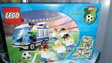 New LEGO 3405 Team Transport Soccer Blue & White