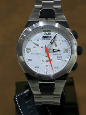 Momo Design Watch - Mens Stainless Steel Chrono - MD-136-02WT-CM