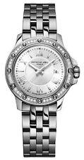 RAYMOND WEIL TANGO 36 Diamond Orologio Donna 5399-sts-00657 - Rrp £ 1150-NUOVO