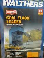 Walthers Cornerstone HO #933-3051 Coal Flood Loader (Kit Form)