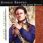 ***PROMO COPY***Night Spinner by George Brooks (CD, May-1998, Moment Records)