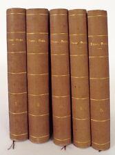 Grün, Anastasius. (eig. A.A. von Auersperg), Gesammelte Werke. 5 Bände. EA 1877