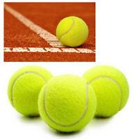 9 Palline Tennis Palle Allenamento Sport Per Racchettoni Gialle 3398