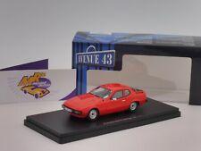 "Autocult Avenue 43 60040 # Porsche 924 Prototyp Baujahr 1974 "" rot "" 1:43 NEU"