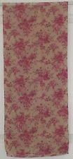 TERRIART Orchid, Pink, Beige Flower Sprays Sheer 56x12 Long Scarf-Vintage