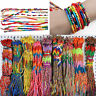 10Pcs Wholesale Jewelry Lot Braid Strands Friendship Cords Handmade Bracelets