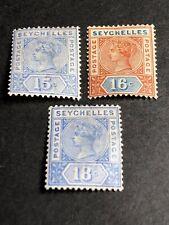 Seychelles Scott 11-13 Mint OG CV $41