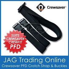 CREWSAVER PFD LIFE JACKET DUAL CROTCH STRAP-CREWFIT INFLATABLE LIFEJACKET CRUTCH
