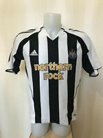 Newcastle United 2005/2006/2007 Home Size M Adidas football shirt jersey soccer