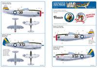 KITS-WORLD 1/32 p - P-47D Thunderbolt ART SUR LE NEZ DES AVIONS Ensemble 1