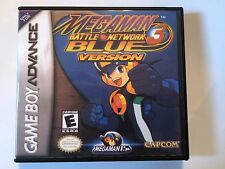 Megaman Battle Network 3 Blue Version - GBA - Replacement Case - No Game