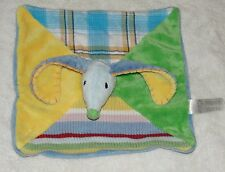 Happy Horse Baby Security Blanket Mouse Dog Bunny Stripe Plaid Finger Puppet