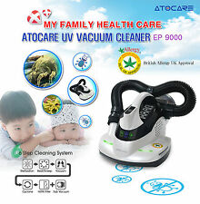 Atocare EP-9000 Bedding Vacuum Cleaner with UV lamp & HEPA Filter 220V