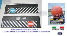 Paraspruzzi  Posteriori- Para Spruzzo per  Rimorchi- Autocarri cm.240 x 38