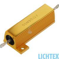 12V 55W 3.5 Ohm CAN-Bus Beleuchtungsfehler Wiederstand Leistungswiderstand NEU