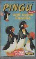 Hörspielkassette-PINGU-Folge1: Pingu und seine Familie- sehr selten-für Sammler
