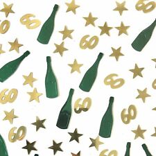 60th Birthday Table Scatter | 60th Party Table Confetti Decor - UK SELLER